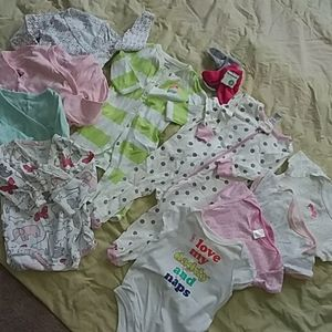 BABY GIRL BUNDLE starter kit 11 piece 3-6 months